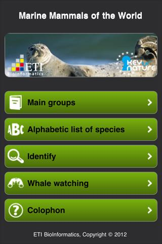 【免費書籍App】Marine Mammals of the World-APP點子