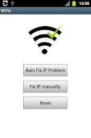 Screenshot of WiFix by mHotspot