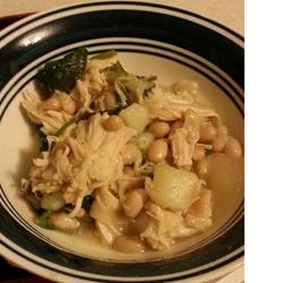 Chicken, Spinach, and Potato Soup