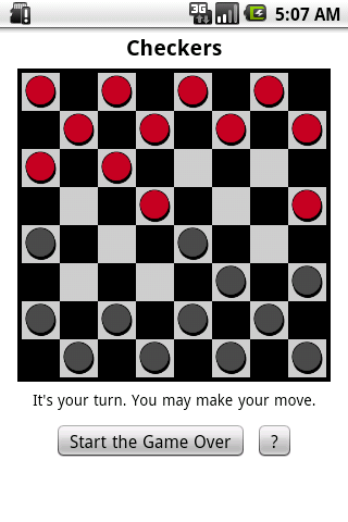 Checkers - The Classic Game