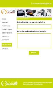 Imprenta Claro Digital - screenshot