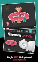 Screenshot of Memory Animals - Matching Game