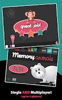 Screenshot of Memory Animals - Matching Game
