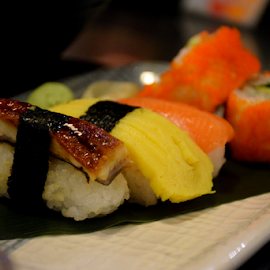 The Sushi ~ by L 's - Food & Drink Plated Food ( japan, sushimi, food, sushi, japanese )