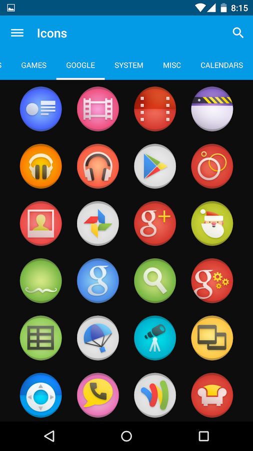 Simplo - Icon Pack Screenshot 5