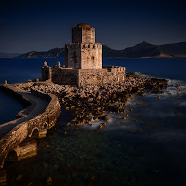 Spring Dust by Tasos Koutsiaftis - Landscapes Travel ( greek, greece, sea, castle, long exposure,  )