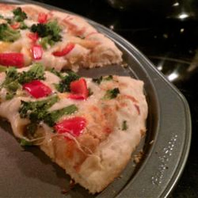 Garlic Lover's Pizza Crust for the Bread Machine