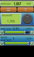 Screenshot of Electric Lines Calculator Demo