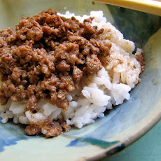 Taiwanese Meat Sauce With Rice (Lu Rou Fan)