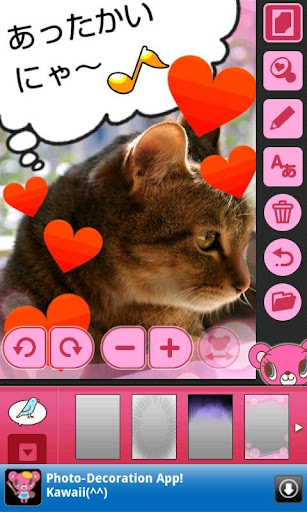 priprimarron-mini-photo-deco for android screenshot