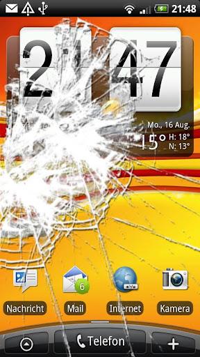 【免費社交App】Screen Crack with sound!-APP點子
