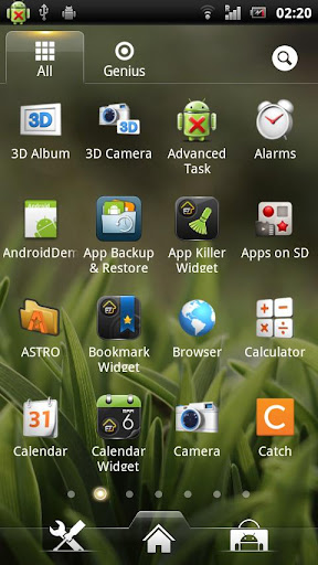 ez-launcher for android screenshot