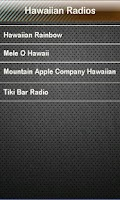 Screenshot of Hawaiian Radio Hawaiian Radios