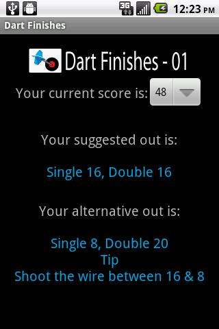 Dart Finishes