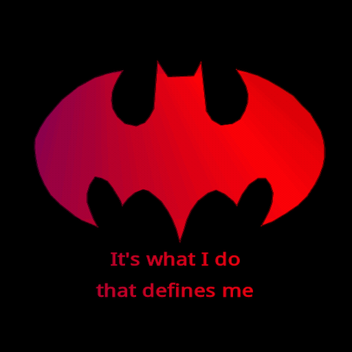 Batman Quotes LWP LOGO-APP點子