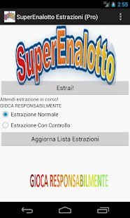 Superenalotto Estrazioni (Pro) - screenshot