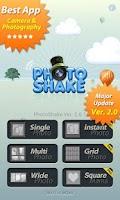 Screenshot of PhotoShake!