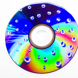 Colored dvd by Blerim Havolli - Artistic Objects Cups, Plates & Utensils ( havolli, dvd, blerim, bubbles, colours, cd )