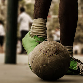 Football by Toufique E Joarder - Novices Only Sports ( streets, street football )