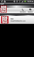 Screenshot of BOB FM 104.9