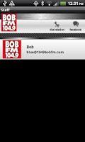 Screenshot of BOB FM 104.9