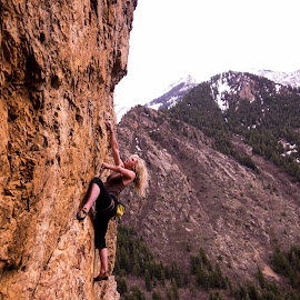 Big Cottonwood 3 by Climb Globe - Sports & Fitness Climbing ( rock climbing, climbing, utah, big cottonwood, salt lake city )