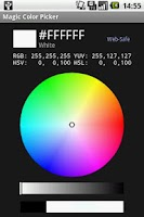 Screenshot of Magic Color Picker