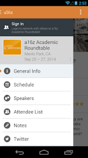 a16z Academic Roundtable 2014 - screenshot