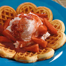 Belgian Waffles 'n Strawberries