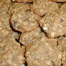 Oatmeal Raisin Persimmon Cookies