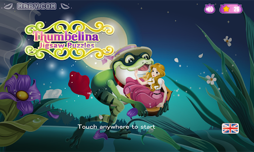 Thumbelina puzzle –puzzle game - screenshot