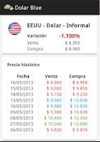 Screenshot of Dolar Blue