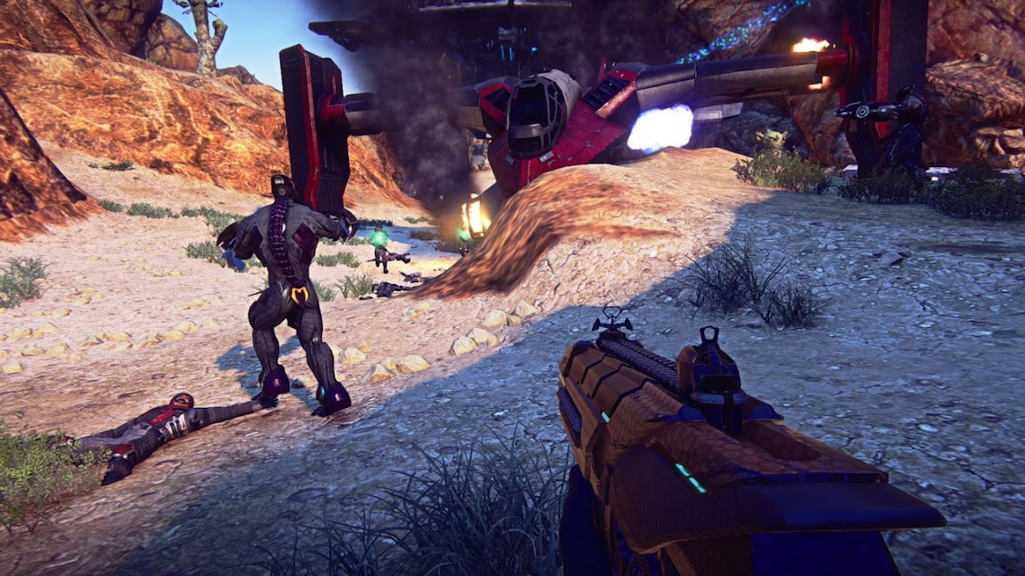 Planetside 2 coming to retail