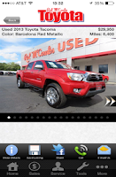 Screenshot of Red McCombs Toyota