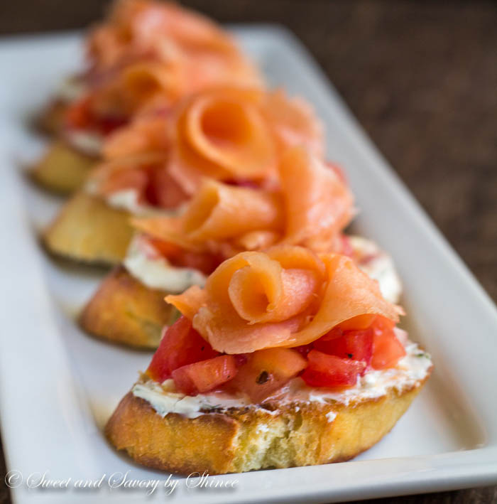 Smoked Salmon Crostini Recipes — Dishmaps