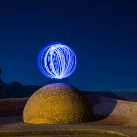 Ball of light by Marleen la Grange - Abstract Light Painting