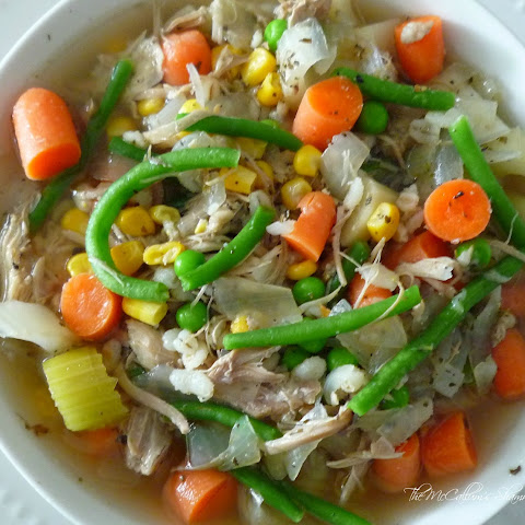Beer, Barley,Turkey & Vegetable Soup