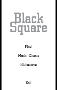 Black Square - screenshot