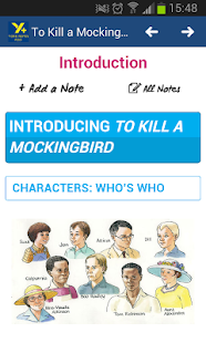 To Kill a Mockingbird GCSE - screenshot