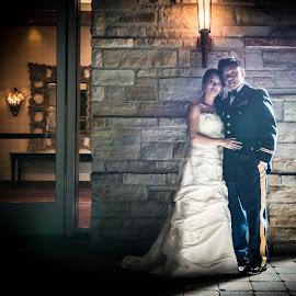 by JI Photos - Wedding Bride & Groom