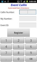 Screenshot of Check In Help - Event Callin
