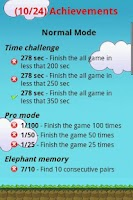 Screenshot of Memory Game (MemoGame)
