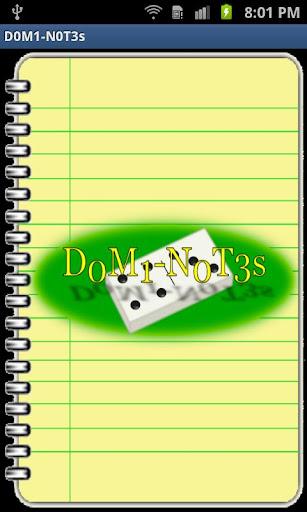 D0M1-N0T3s
