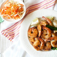 Honey Glazed Shrimps