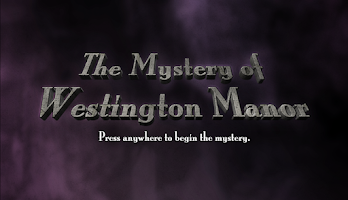 Screenshot of Mystery of Westington Manor