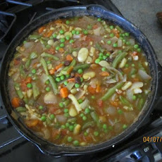 Moroccan-Spiced Fava Bean Stew
