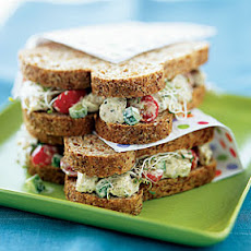 Chicken Salad Sandwiches With Pesto