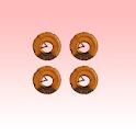 チョコ ドーナツ(Donut) 時計 icon