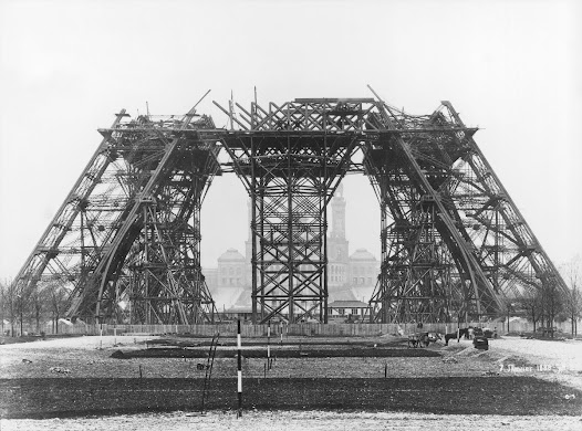 The first digging work started on 26 January 1887 and marked the beginning of the Tower's construction.