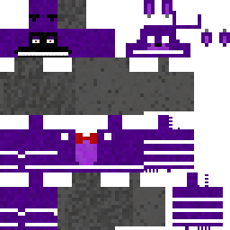 Bonnie Nova Skin - Skins para minecraft pe five nights at freddys
